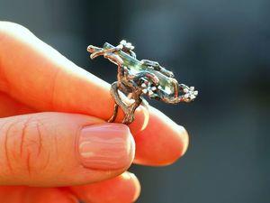 Новинка! Кольцо Лесная рапсодия с трумалином, серебро 925 пробы с чернением. Ярмарка Мастеров - ручная работа, handmade.