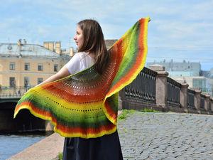 Новые шали. Фотосессия в Петербурге | Ярмарка Мастеров - ручная работа, handmade