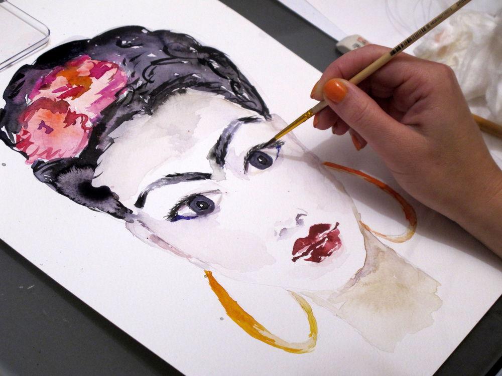 мастер-класс, живопись, акварель