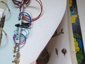 Как просто сделать органайзер для бижутерии из папки на кольцах. Ярмарка Мастеров - ручная работа, handmade.