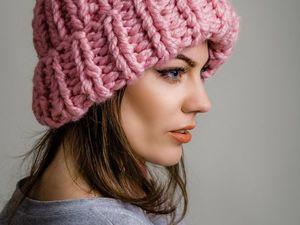 Вязаных шапок много не бывает!. Ярмарка Мастеров - ручная работа, handmade.