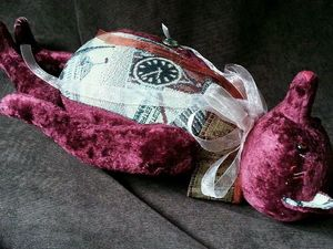 Коллекционный мишка тедди 55 см 3950 р. Ярмарка Мастеров - ручная работа, handmade.
