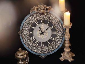 Мк Часы Барокко-огромные часы 67-60см | Ярмарка Мастеров - ручная работа, handmade
