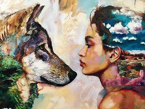 Дверь в мир снов: картины 16-летней художницы Dimitra Milan | Ярмарка Мастеров - ручная работа, handmade