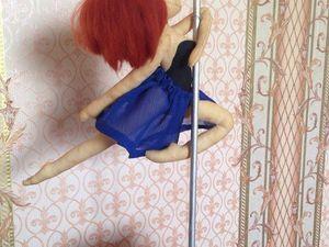 Шьем портретную куклу Pole dancer. Ярмарка Мастеров - ручная работа, handmade.
