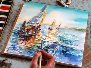 Онлайн мастер-классы по живописи: небольшой опрос. Ярмарка Мастеров - ручная работа, handmade.