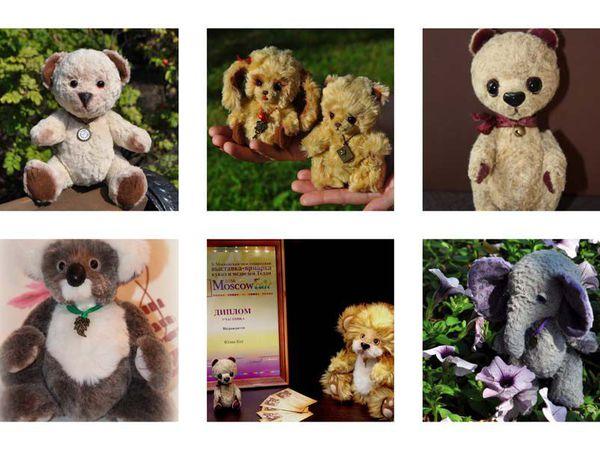 Тедди-путь: от первых стежков к первой выставке. Или как я начинала создавать авторские игрушки. | Ярмарка Мастеров - ручная работа, handmade