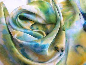 Новая работа в магазине - Батик платок