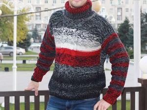 Скидки на мужские свитера и кофты. Ярмарка Мастеров - ручная работа, handmade.