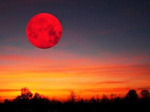 Полнолуние и Лунное затмение 27.07.2018. Ярмарка Мастеров - ручная работа, handmade.