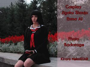 Cosplay — Jigoku Shoujo — Enma Ai (видео версия + закадровые видео). Ярмарка Мастеров - ручная работа, handmade.