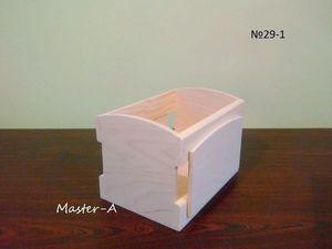 Ящик реечный №29- заготовка для декупажа. Ярмарка Мастеров - ручная работа, handmade.