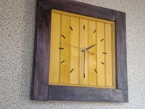 Делаем своими руками настенные часы «Обыкновенные» в деревенском стиле. Ярмарка Мастеров - ручная работа, handmade.