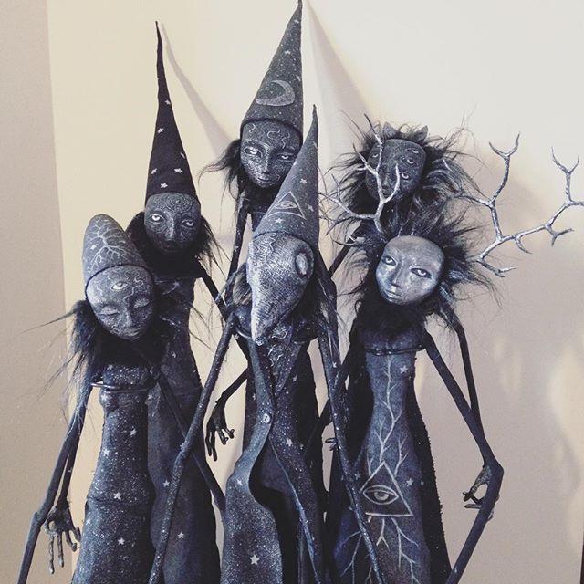 юрий бушмакин, авторские куклы, готика, луна