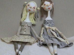 Аукцион ! Куклы Агриппина и Федора . | Ярмарка Мастеров - ручная работа, handmade