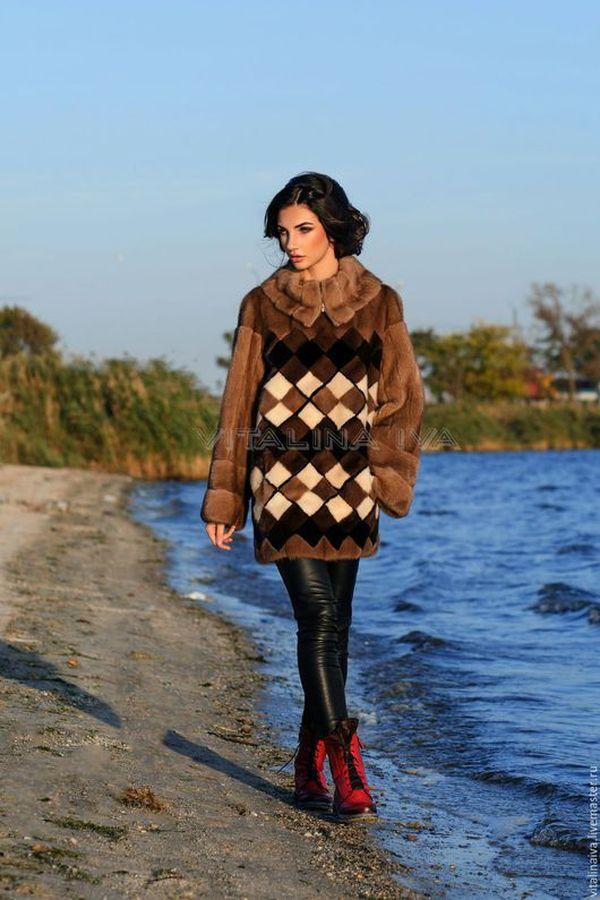 норка, норковый свитер, теплая одежда, vitalinaiva