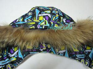 Как пришить съёмную опушку из натурального меха на капюшон куртки. Часть 2 | Ярмарка Мастеров - ручная работа, handmade