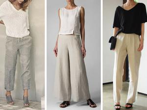 Must-have летнего гардероба: льняные брюки. Ярмарка Мастеров - ручная работа, handmade.