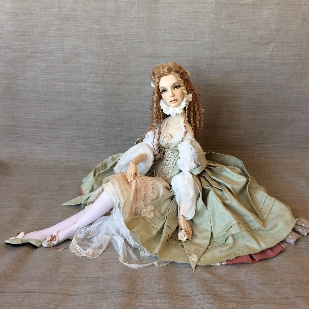 художественная кукла, выставка
