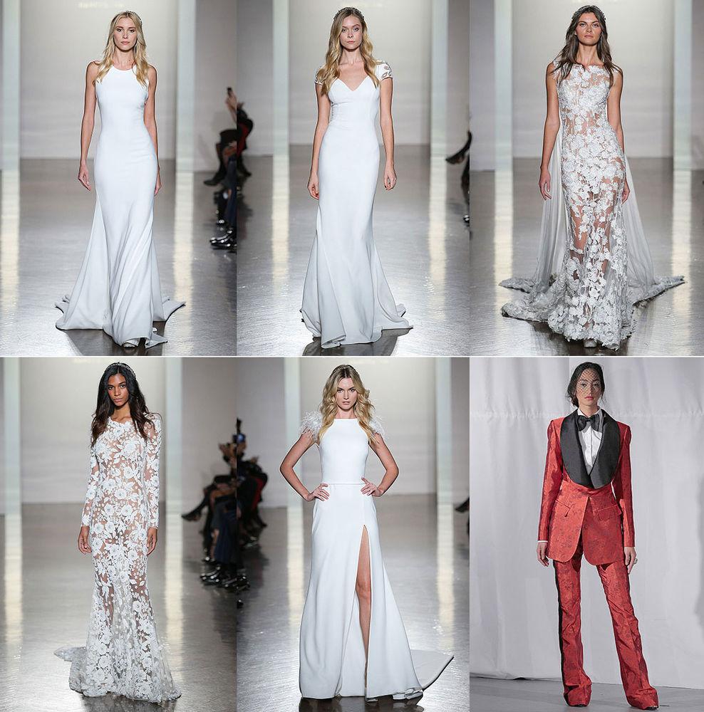 Неделя свадебной моды в Нью-Йорке: 100 лучших подвенечных платьев, фото № 10