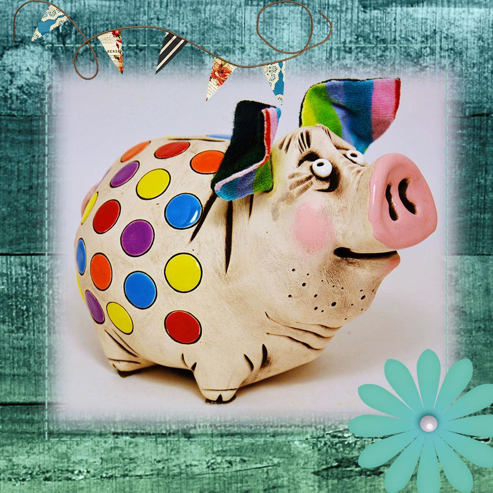 подарок, свинья, богатство, оберег для дома