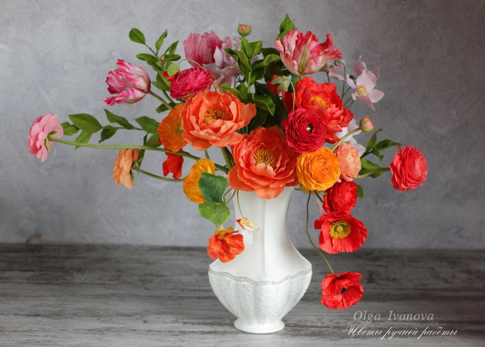 букет, скидка, подарок, уникальный подарок, ботаническая скульптура, полимерная глина, холодный фарфор, цветы, интерьерная композиция, цветочная композиция, интерьер