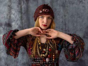 """Коллекция """"Специи"""". Платье VR-1533. Ярмарка Мастеров - ручная работа, handmade."""