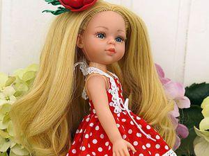 Мой способ перепрошивки кукольных волос. Ярмарка Мастеров - ручная работа, handmade.