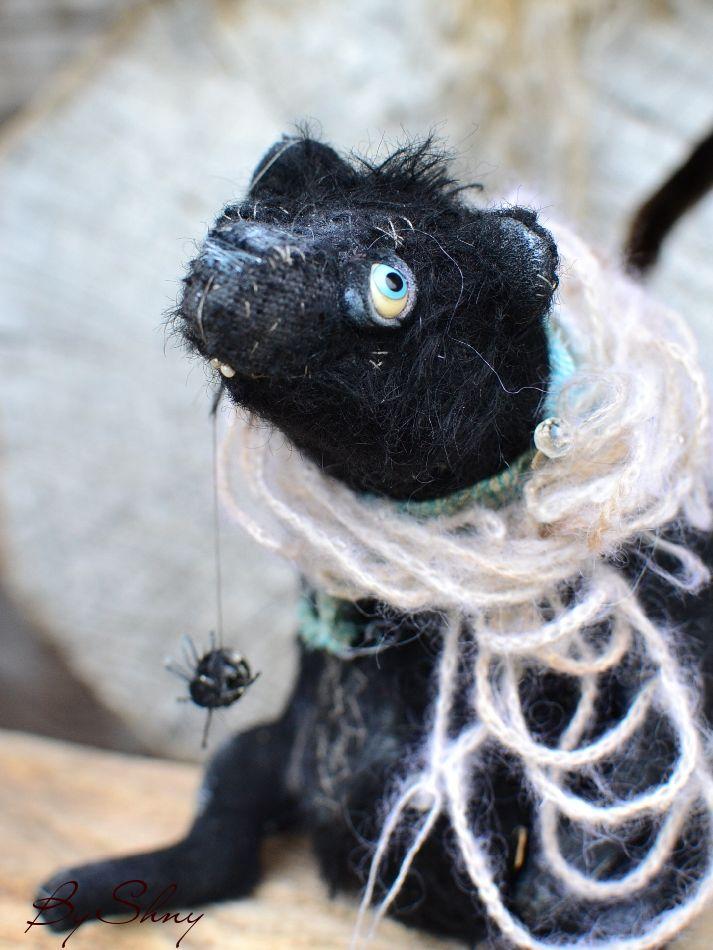чёрный мишка