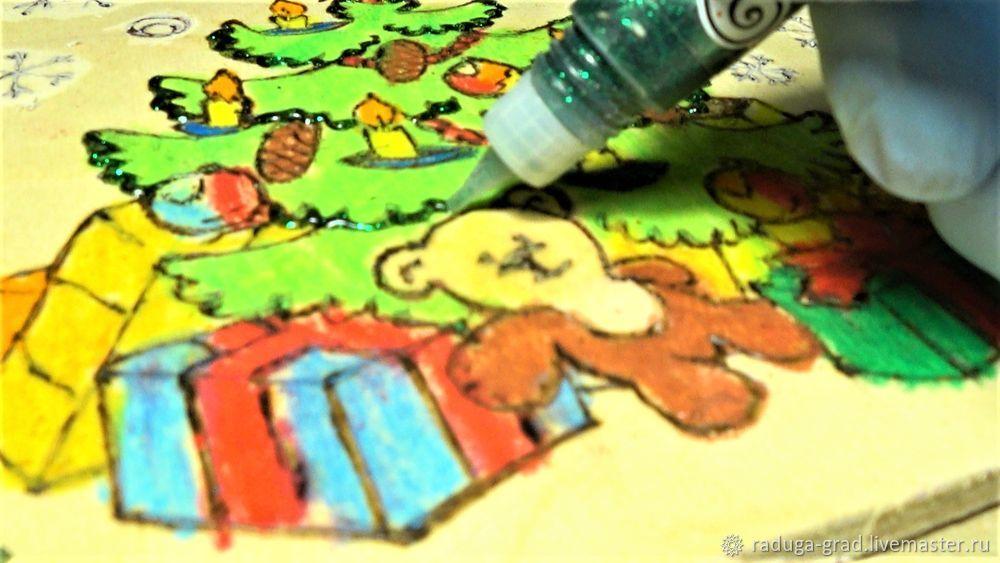 Учимся работать в технике цветного выжигания по дереву, фото № 10