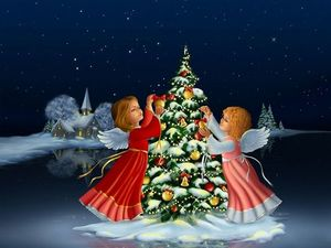 Поздравляем Всех с Рождеством!!!. Ярмарка Мастеров - ручная работа, handmade.
