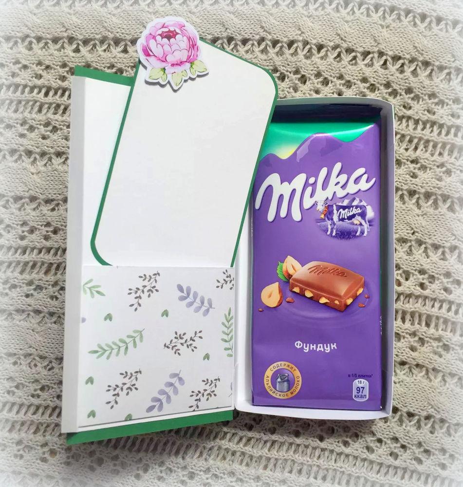 творчество с детьми, шоколадница