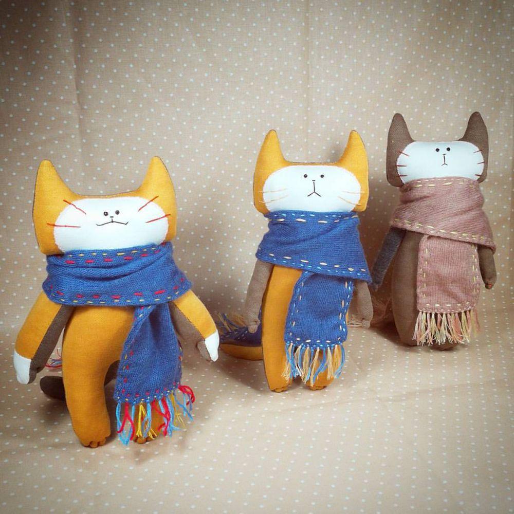кот, коты и кошки, кот в подарок, игрушка ручной работы