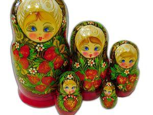 Народные стили росписи русских матрешек. Ярмарка Мастеров - ручная работа, handmade.