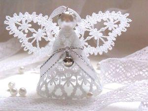 Рождественские ангелочки и не только. Ярмарка Мастеров - ручная работа, handmade.
