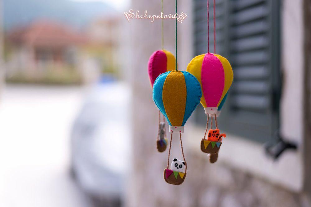 игрушки из фетра, игрушки ручной работы
