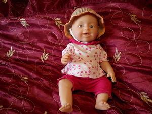 Видео мастер-класс: вяжем крючком летнюю панамку для пупса Baby born. Ярмарка Мастеров - ручная работа, handmade.
