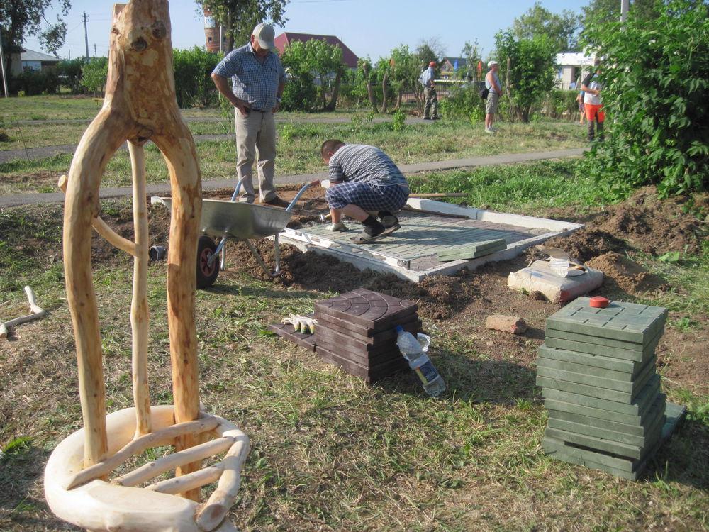 Об участии в международном фестивале деревянной скульптуры., фото № 22