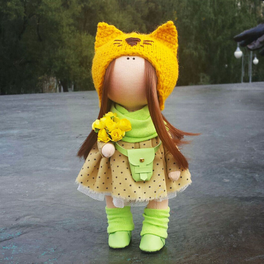 кукла, тыквоголовка