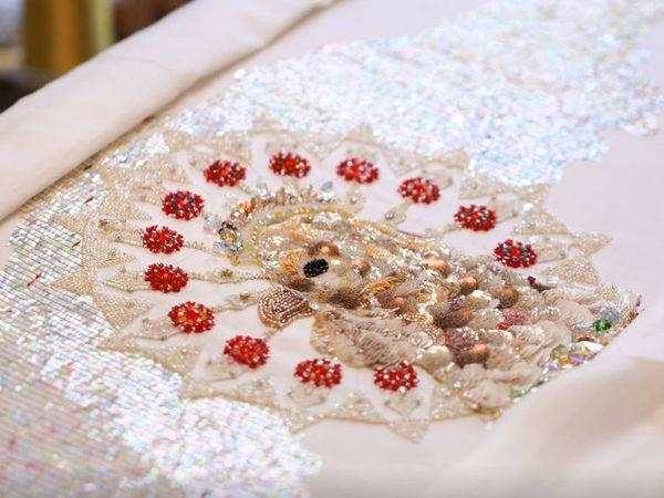 Искусство люневильской вышивки Chengyen LEE | Ярмарка Мастеров - ручная работа, handmade