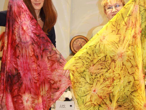 Мастер-класс по Батику СРЕДА 19 октября 12-00. Холодный батик. | Ярмарка Мастеров - ручная работа, handmade