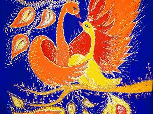 Моя сияющая картина (видео) | Ярмарка Мастеров - ручная работа, handmade