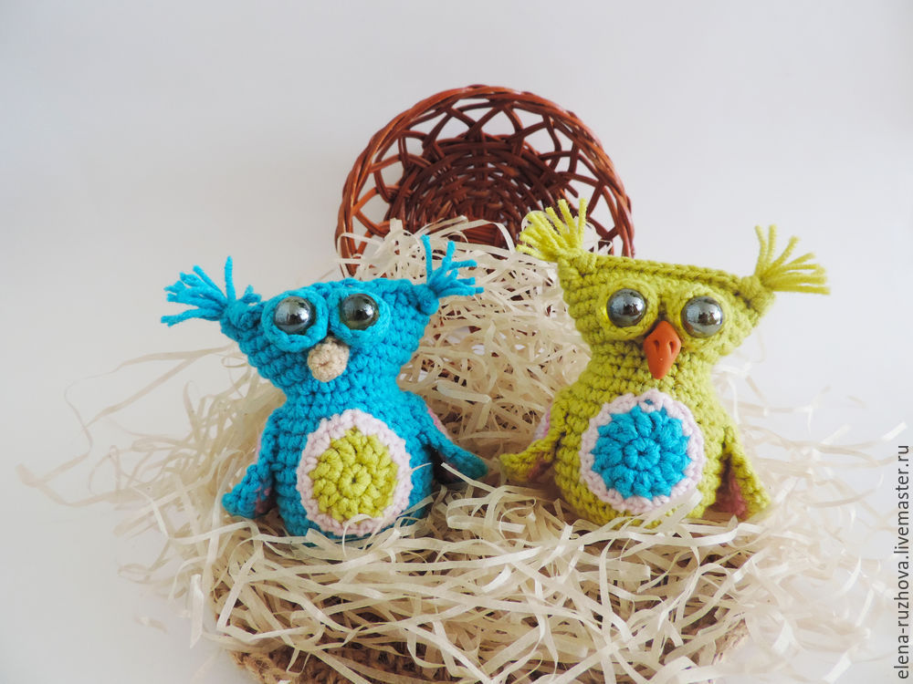 Crocheting a Charming Little Owlet with Tassels on Ears, фото № 15