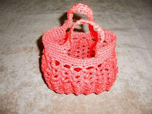 Вяжем яркую и прочную сумку-корзинку для песочницы. Ярмарка Мастеров - ручная работа, handmade.