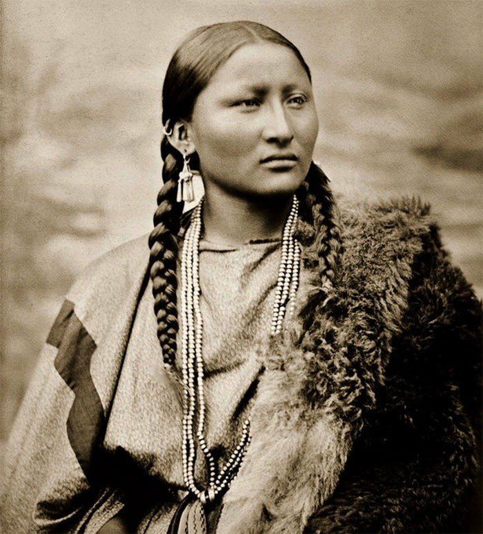 What the Indigenous Women of North America Looked Like: Vintage Photos of Indian Girls, фото № 12