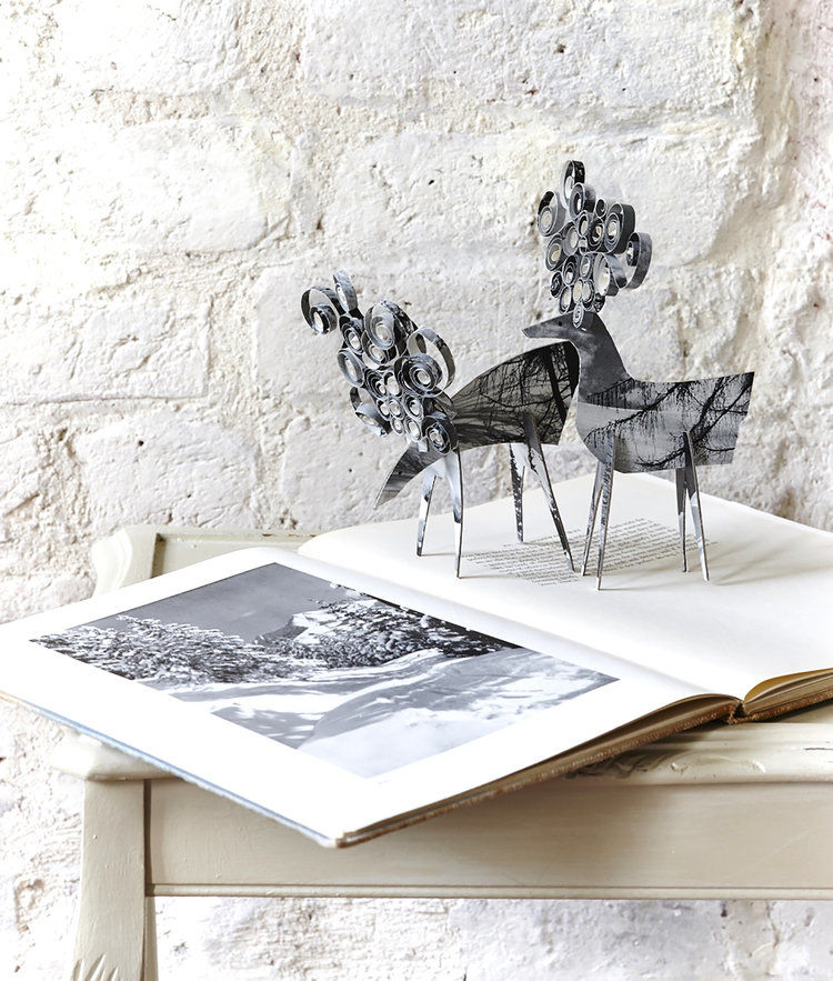 Cheerful Animals of Paper and Fabric by the Designer Clare Youngs, фото № 11