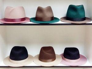 Скидки на двухцветные шляпы. Ярмарка Мастеров - ручная работа, handmade.