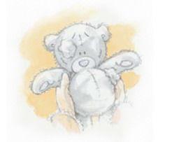 зима прошла, погода стала тёплой, девочка, играла, нашла медведя, серый мишка Тедди, бомж
