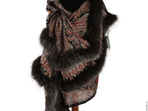 Аксессуар один — образов много, Или как носить павловопосадские платки и шали. Ярмарка Мастеров - ручная работа, handmade.