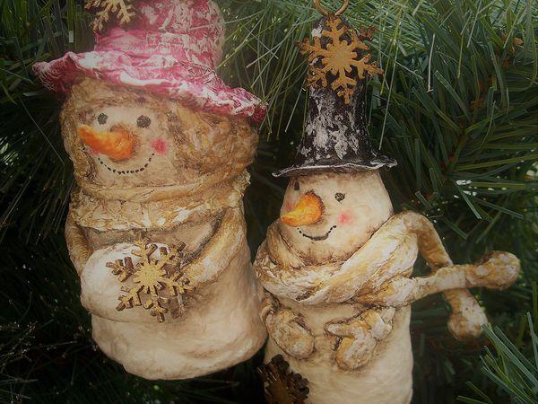 Создаем ёлочную игрушку из ваты | Ярмарка Мастеров - ручная работа, handmade